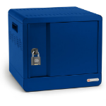 Bretford CUBE Micro Station Portable device management cabinet Blue