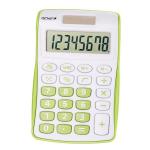 Genie 120B Pocket Calculator 8 Digit Green