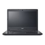 "Acer TravelMate P249-G2-M-56UX 2.50GHz i5-7200U 14"" 1366 x 768pixels Black Notebook"