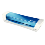 Leitz iLAM Home Office A4 Hot laminator 310mm/min Blue,Metallic,White