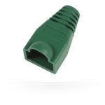 MicroConnect Boots RJ45 Green 25pack