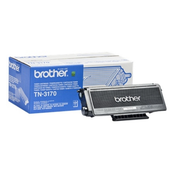 Brother TN-3170 Toner black, 7K pages @ 5% coverage