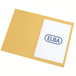 Elba 100090223 Polypropylene (PP) Yellow folder