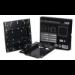 Tronje L2020 Black flat panel wall mount