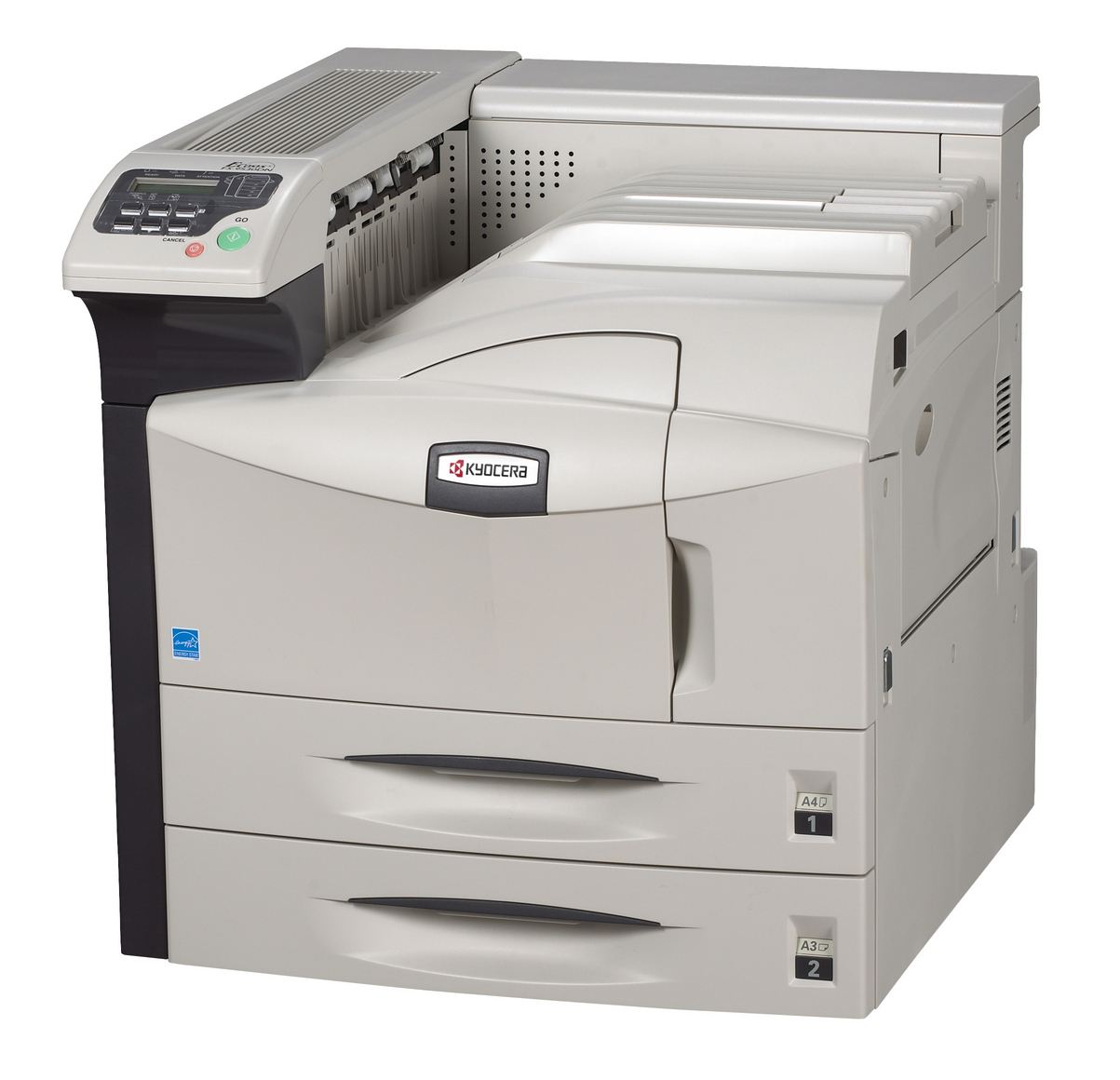 KYOCERA FS-9530DN A3 Mono Laser Printer, 51ppm A4, 1800 x 600 dpi, 128MB, 2 Years Warranty