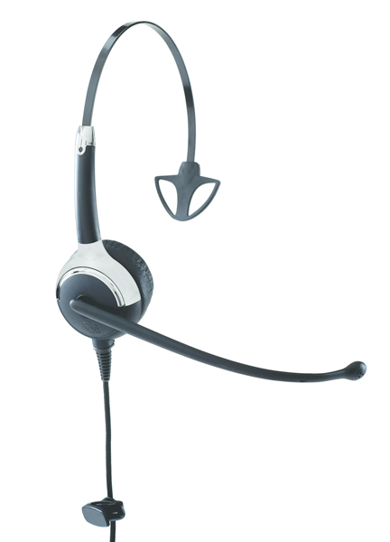 VXi ProSet LUX 5010U+ Monaural Head-band Black headset