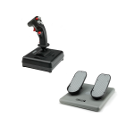 CH Products Finest Hour Pack For PC & Mac (Inc USB Combatstick + Pro Pedals)