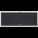 CHERRY STRAIT BLACK 3.0 USB QWERTY English Black keyboard JK-0360EU