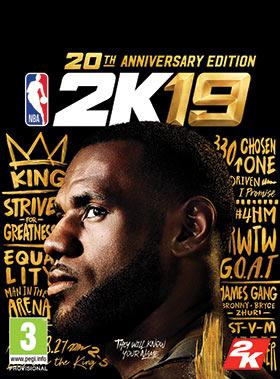 Nexway NBA 2K19 20th Anniversary Edition vídeo juego PC/Mac Básico + complemento + DLC Español