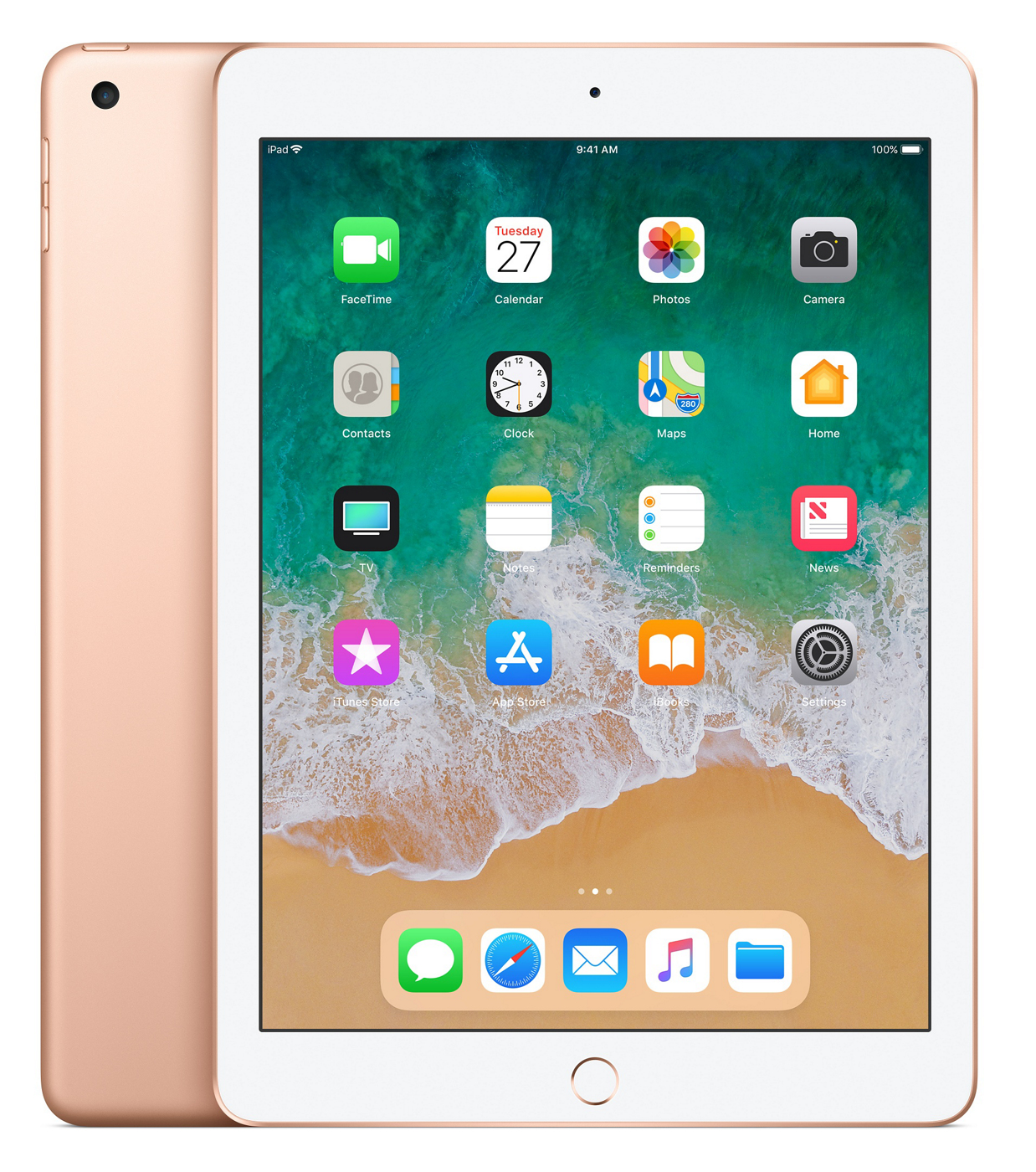 iPad 2018 - 9.7in - Wi-Fi - 128GB - Gold