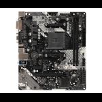 Asrock A320M-HDV R4.0 AMD A320 Socket AM4 micro ATX