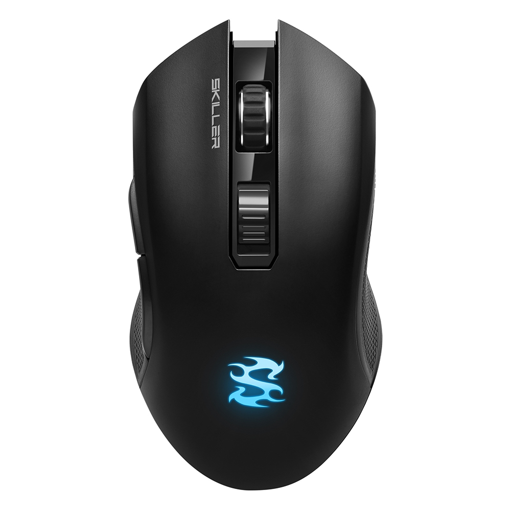 SHARKOON SKILLER SGM3 MOUSE RF WIRELESS+USB OPTICAL 6000 DPI RIGHT-HAND