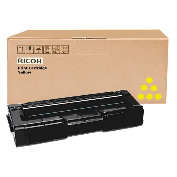 Ricoh 406482 (TYPE SPC 310 HE) Toner yellow, 6K pages @ 5% coverage