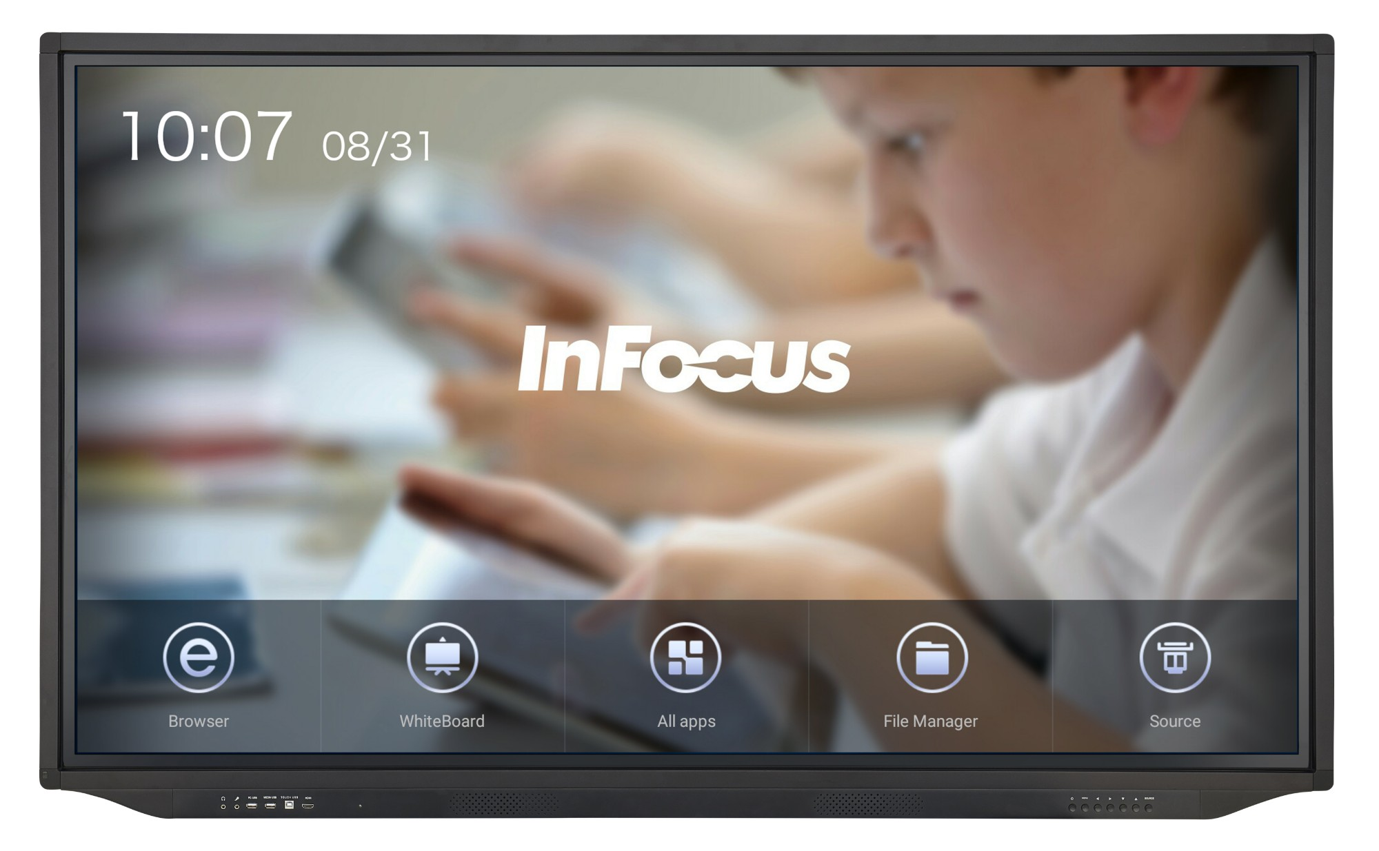 JTouch Plus 75in 4K Display with Android and Anti-Glare (INF7530EAG)
