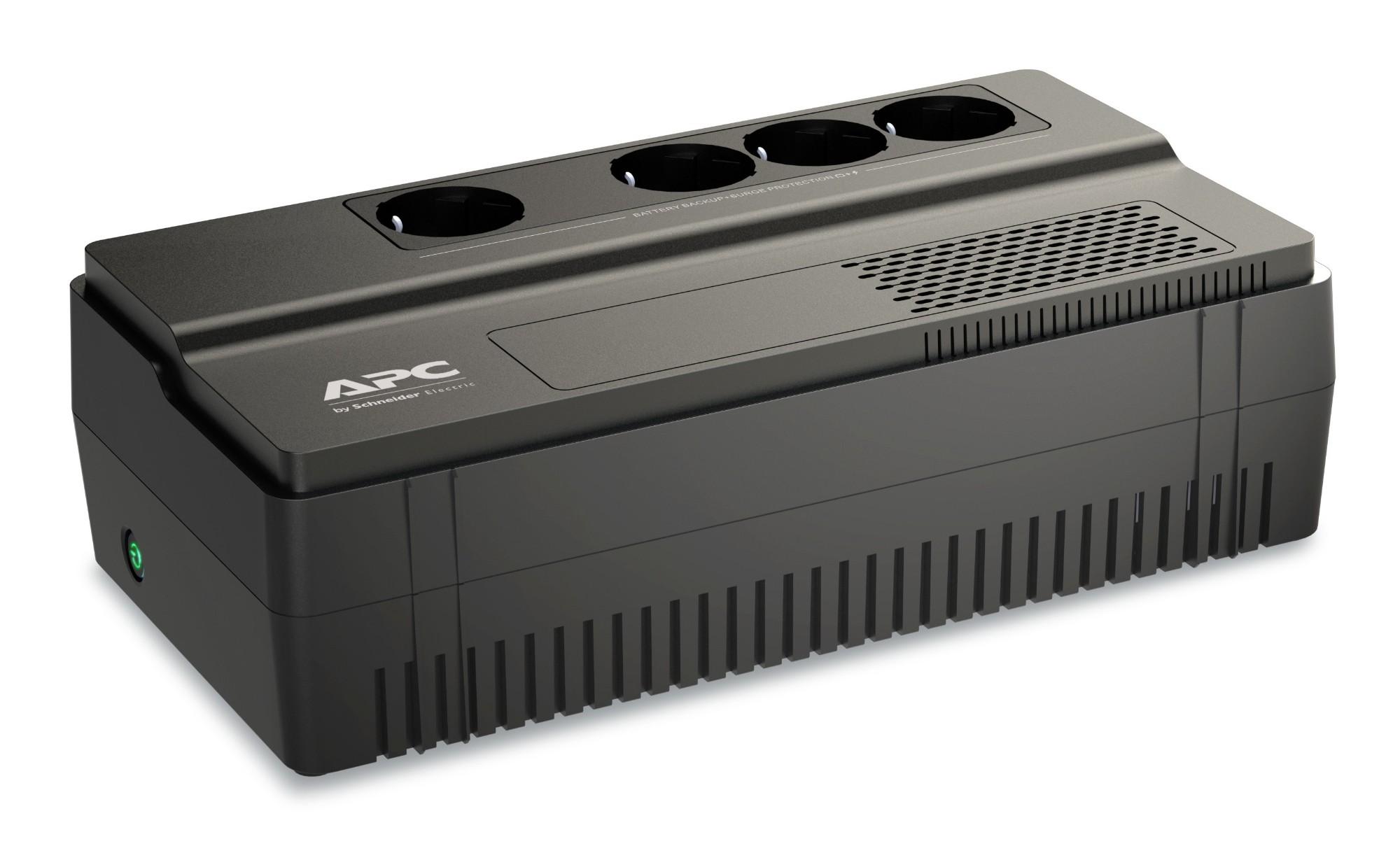 APC BV650I-GR sistema de alimentación ininterrumpida (UPS) Línea interactiva 650 VA 375 W 4 salidas AC