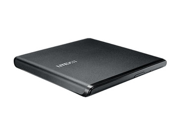 Lite-on ULTRA-SLIM PORTABLE DVD WRITER, USB2.0, Windows I Linux I MAC OS Compatible, 220g