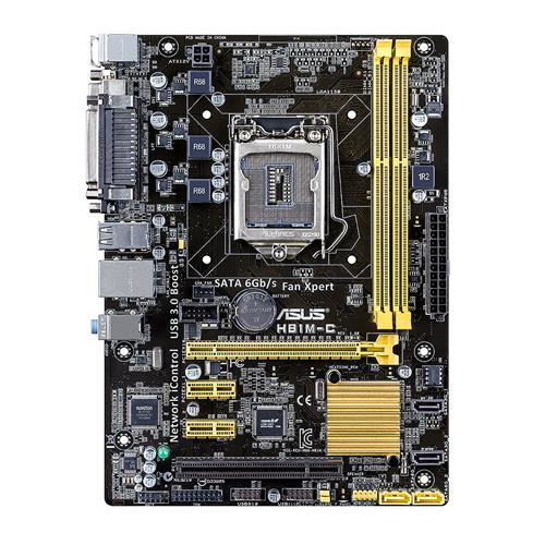 ASUS H81M-C Intel H81 LGA 1150 (Socket H3) Micro ATX motherboard