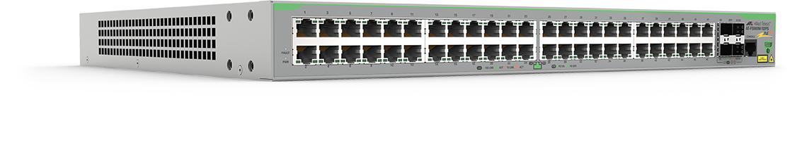 Allied Telesis AT-FS980M/52PS-50 Gestionado L3 Fast Ethernet (10/100) Gris Energía sobre Ethernet (PoE)