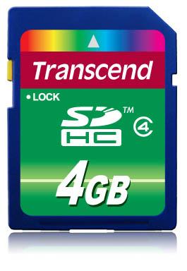 Sdhc 4GB Class 4