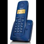 Gigaset A120 Teléfono DECT Azul Identificador de llamadas