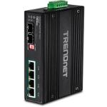 Trendnet TI-PG62B network switch Unmanaged L2 Gigabit Ethernet (10/100/1000) Black Power over Ethernet (PoE)