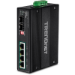 Trendnet TI-PG62B switch Unmanaged L2 Gigabit Ethernet (10/100/1000) Black Energía sobre Ethernet (PoE)