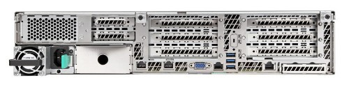 Intel R2208WT2YSR server barebone Intel® C612 LGA 2011-v3 Rack (2U) Stainless steel