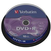 Verbatim DVD+R Matt Silver 4.7GB DVD+R 10pc(s)