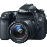 Canon EOS 70D SLR Camera Kit 20.2MP CMOS 5472 x 3648pixels Black