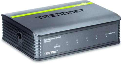 Trendnet 5-Port 10/100Mbps Switch Unmanaged