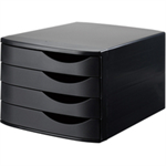 Jalema 2686374299 Polystyrene Black file storage box/organizer