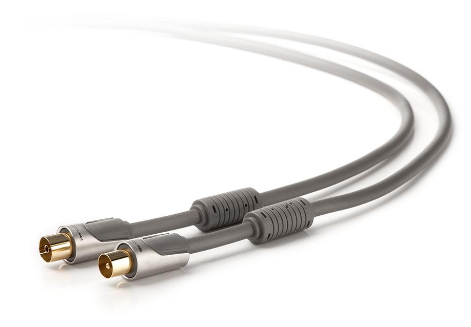 Techlink 720113 3m BNC BNC Grey coaxial cable