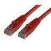 MCL RJ45 CAT6 A U/UTP 0.5m cable de red 0,5 m Rojo