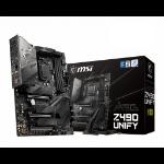 MSI MEG Z490 UNIFY 'ATX, LGA1200, DDR4, 802.11ax WiFi 6 + Bluetooth 5.1, USB 3.2 Gen2, Lightning USB 20G, Type C, M.2,Gen 4 Ready, 10th Gen Intel Core'