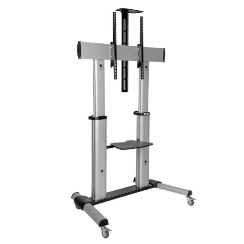 "Tripp Lite Mobile Flat-Panel Floor Stand - 60"" - 100"" TVs and Monitors, Heavy-Duty"
