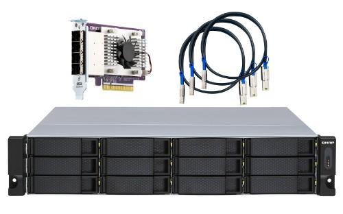 QNAP TL-R1200S-RP storage drive enclosure 2.5/3.5