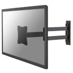 "Newstar FPMA-W830BLACK 27"" Black flat panel wall mount"