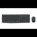 Logitech MK235 keyboard RF Wireless QWERTZ Croatian,Slovenian Black