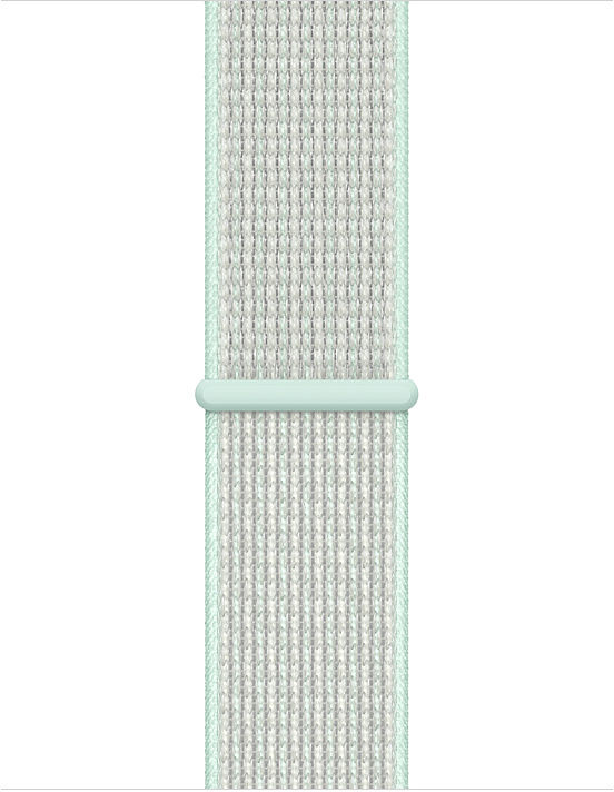 Apple 40mm Nike Sport Loop - Watch strap for smart watch - Regular - teal tint - for Watch (38 mm, 4