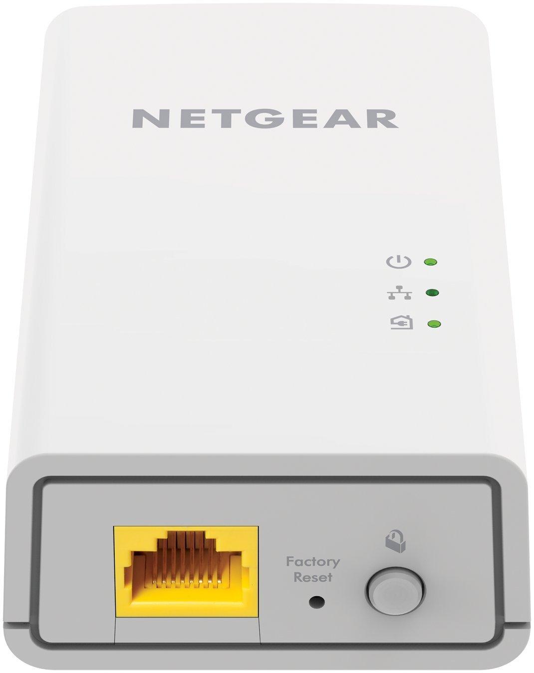 NETGEAR NETWORK EXTENDER OVER POWERLINE, 1Gbps with HOMEPLUG AV2, set of 2x PL1000, 2 years warranty