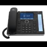 AudioCodes 445HD IP phone Black 8 lines LCD