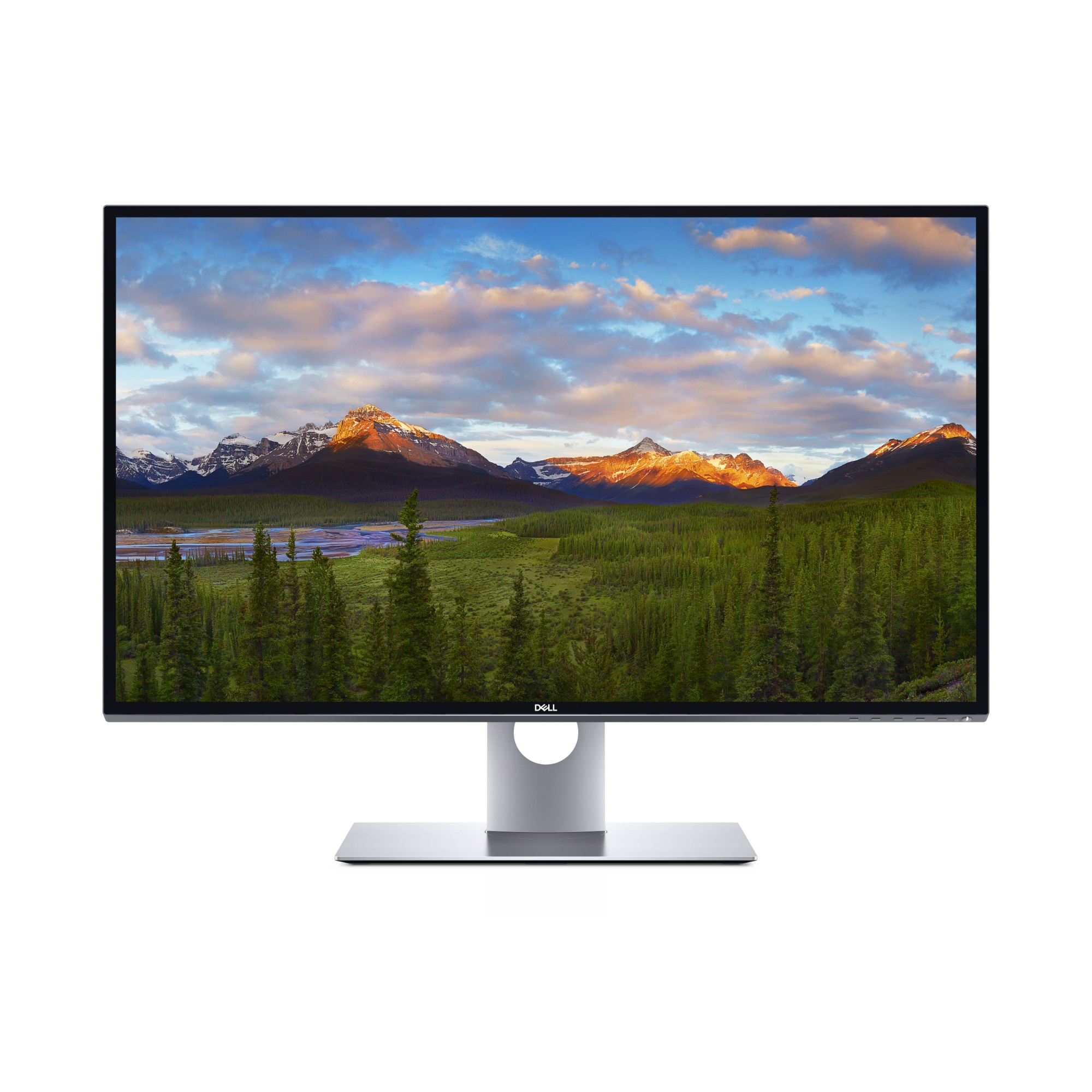 "DELL UltraSharp UP3218K 81,3 cm (32"") 7680 x 4320 Pixeles 8K Ultra HD LCD Negro, Plata"