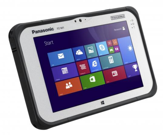 Panasonic Toughpad FZ-M1 128GB 4G Black,Silver tablet