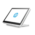 "HP ElitePOS 10.1 10.1"" 1280 x 800pixels Multi-touch Table White touch screen monitor"