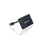 iogear GSR203 smart card reader Black USB 2.0
