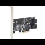 SYBA SI-PEX40138 interface cards/adapter M.2,SATA Internal