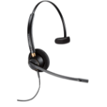 Plantronics EncorePro HW510 Monaural Head-band Black headset 89433-02