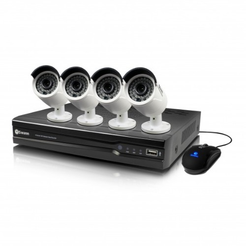 Swann SWNVK-874004 Wired 8channels video surveillance kit