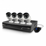 Swann NVR8-7400 8 Channel 4MP Network Video Recorder & 4 x NHD-818 4MP Cameras CCTV KIT