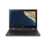 "Acer TravelMate Spin B1 TMB118-G2-RN-C5XK Hybrid (2-in-1) Black 11.6"" 1920 x 1080 pixels Touchscreen Intel® Celeron® 4 GB DDR4-SDRAM 64 GB Flash Wi-Fi 5 (802.11ac) Windows 10 Pro Education"